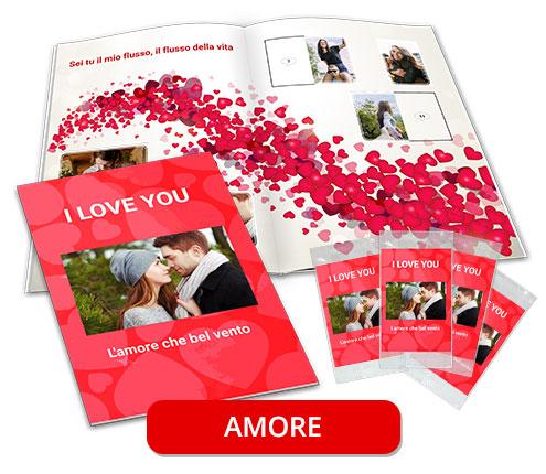 album di figurine personalizzato amore