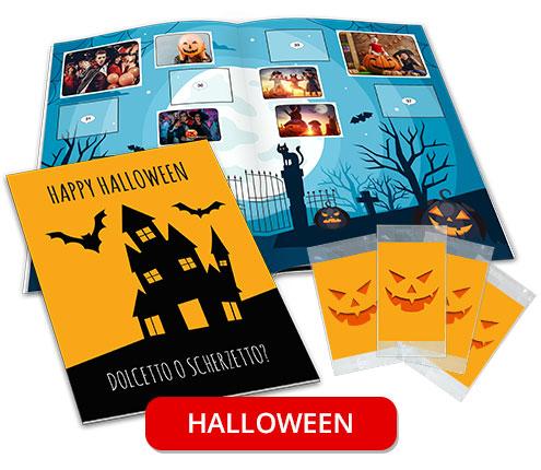 album di figurine personalizzato halloween