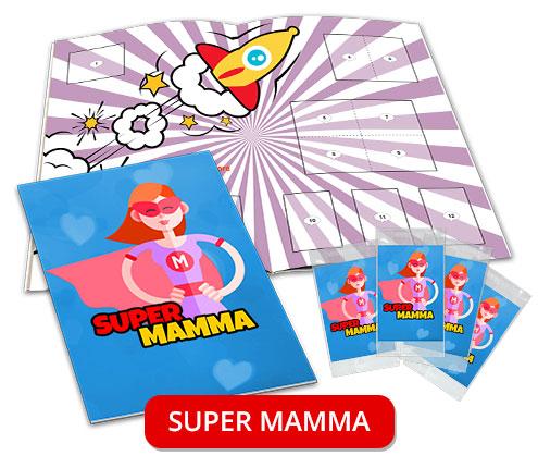 album di figurine personalizzato mamma