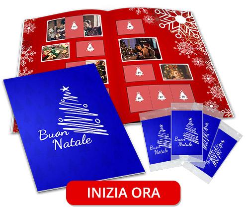 album figurine festa natale