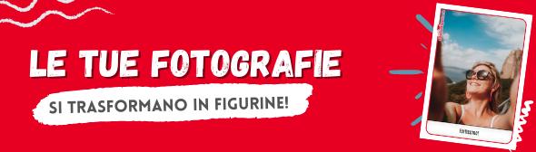 Trasforma le tue fotografie in album di figurine adesive