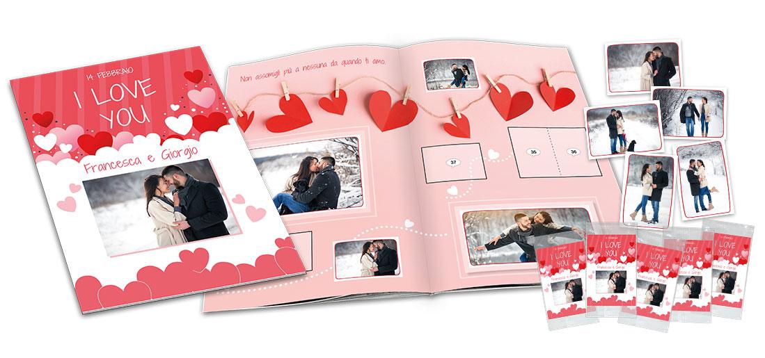 Album di figurine per la tua storia d'amore