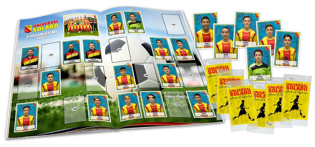 album di figurine calcio sport